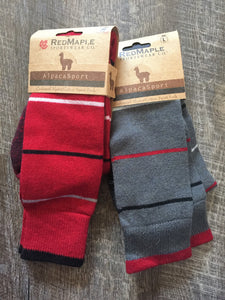 Ski Pop Alpaca Socks - living-water-fibers-and-alpacas