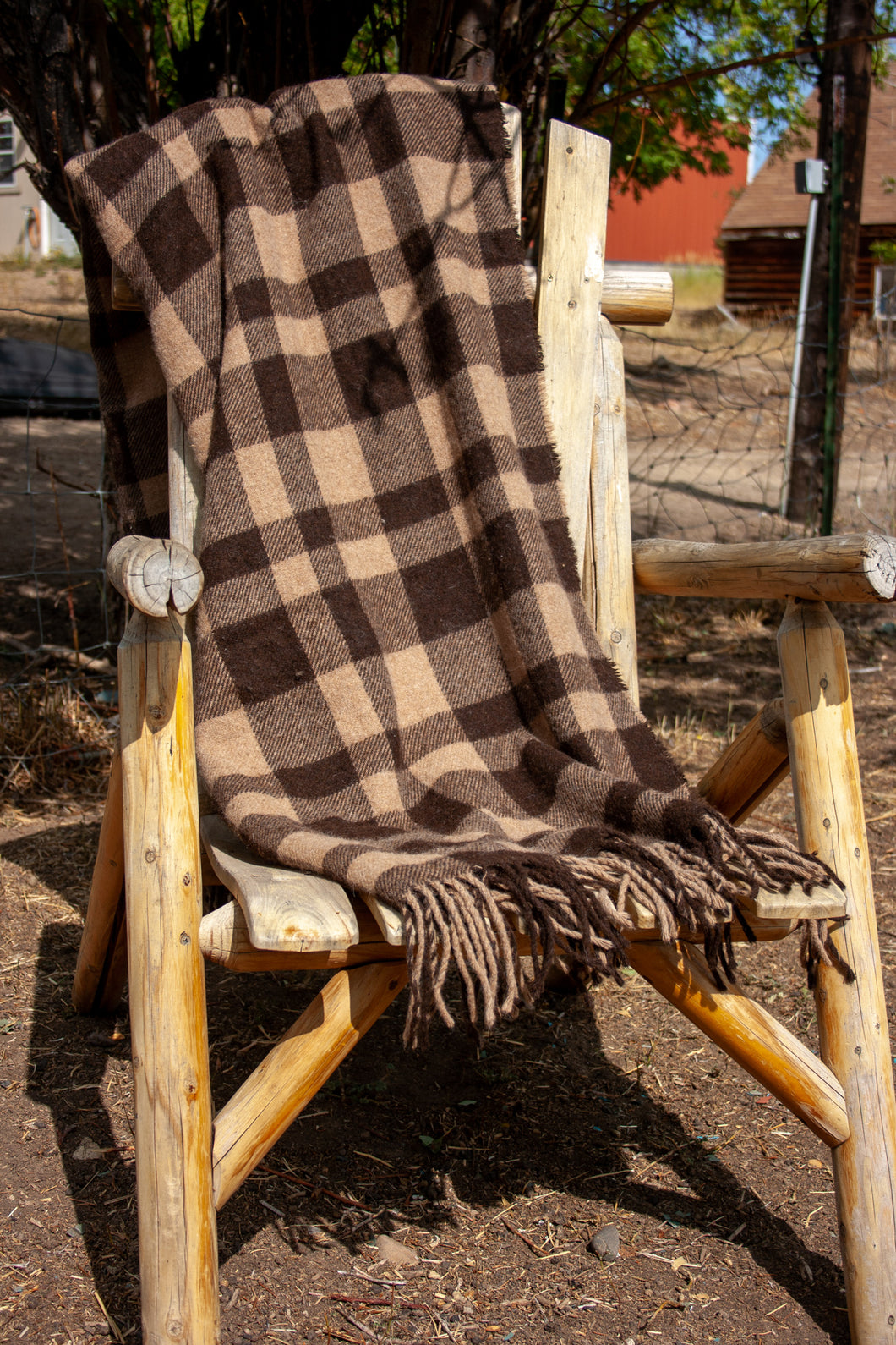 Alpaca Blanket Throw