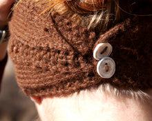 Load image into Gallery viewer, The Aquila Hand Knit Headband - living-water-fibers-and-alpacas