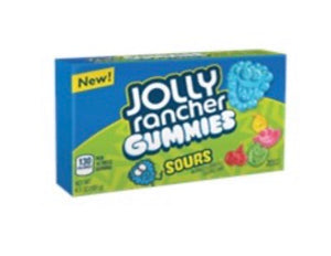 New jolly rancher gummies sours theatre box