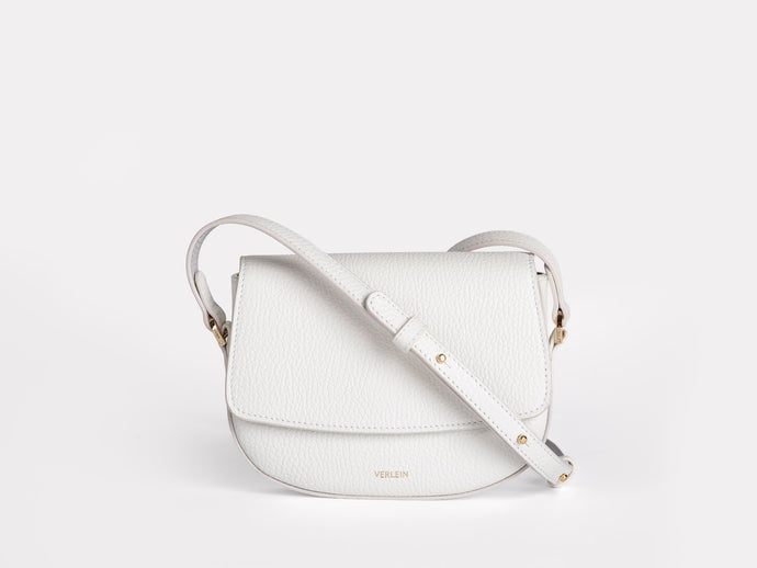 Mini-Ana Crossbody, Bílá