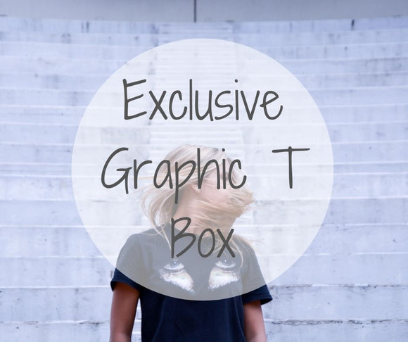 Graphic Tee Subscription Box
