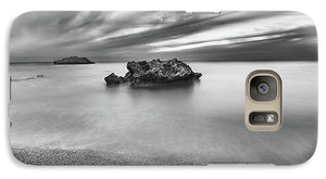 Calm And Storm At Kathisma Beach - Phone Case