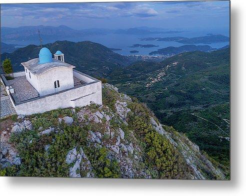 Watching Over - Profitis Ilias - Metal Print