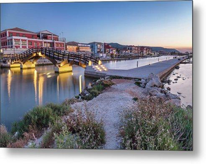 Romantic Visions - Sunset At Lefkas Town - Metal Print