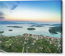 Nidri From Above - Canvas Print
