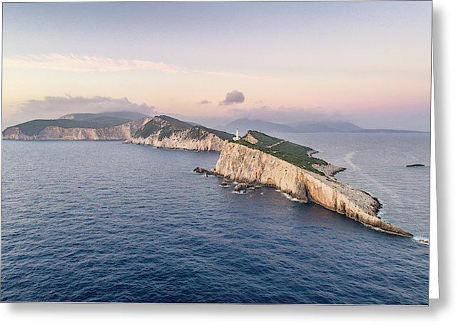 Lefkada From The Sea - Greeting Cards (Pack)