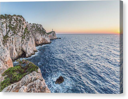 Doukato Coastline - Canvas Print