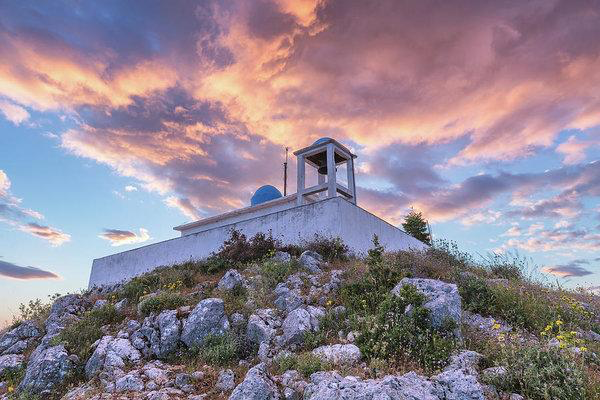 Profitis Ilias At Sunset - Fine Art Print