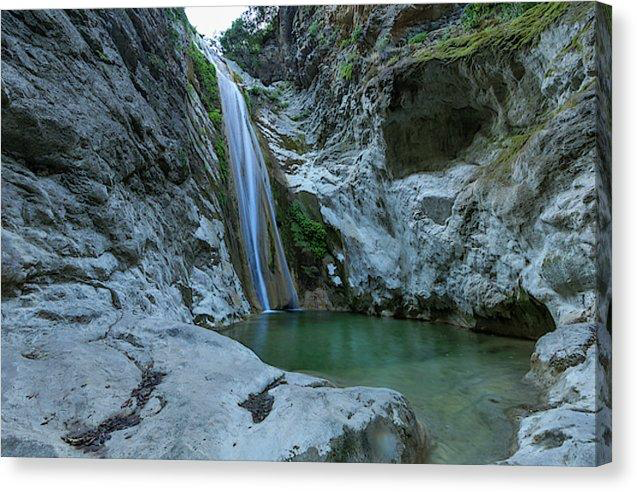 Emerald Falls - Canvas Print