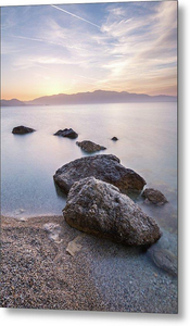 Path To Serenity At Pasa Beach - Metal Print