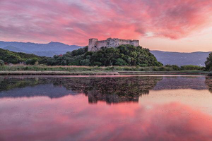 Sunset At Griva Castle - Fine Art Print