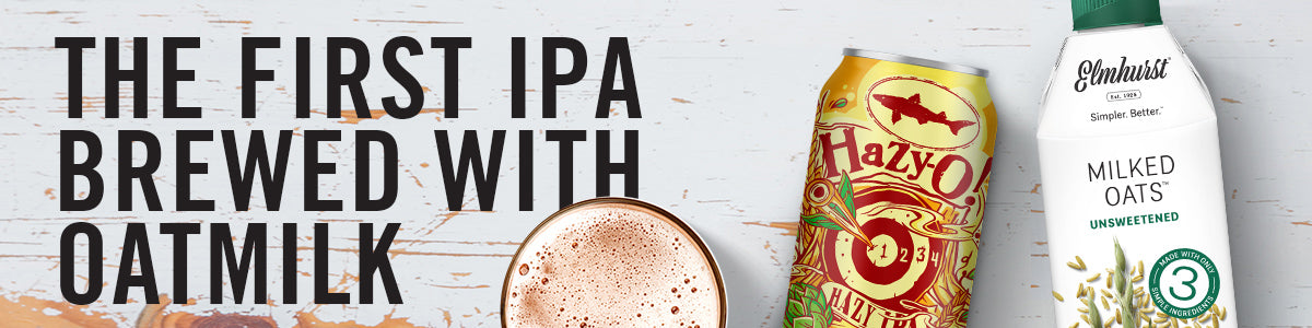 First IPA Brewed OatMilk Banner