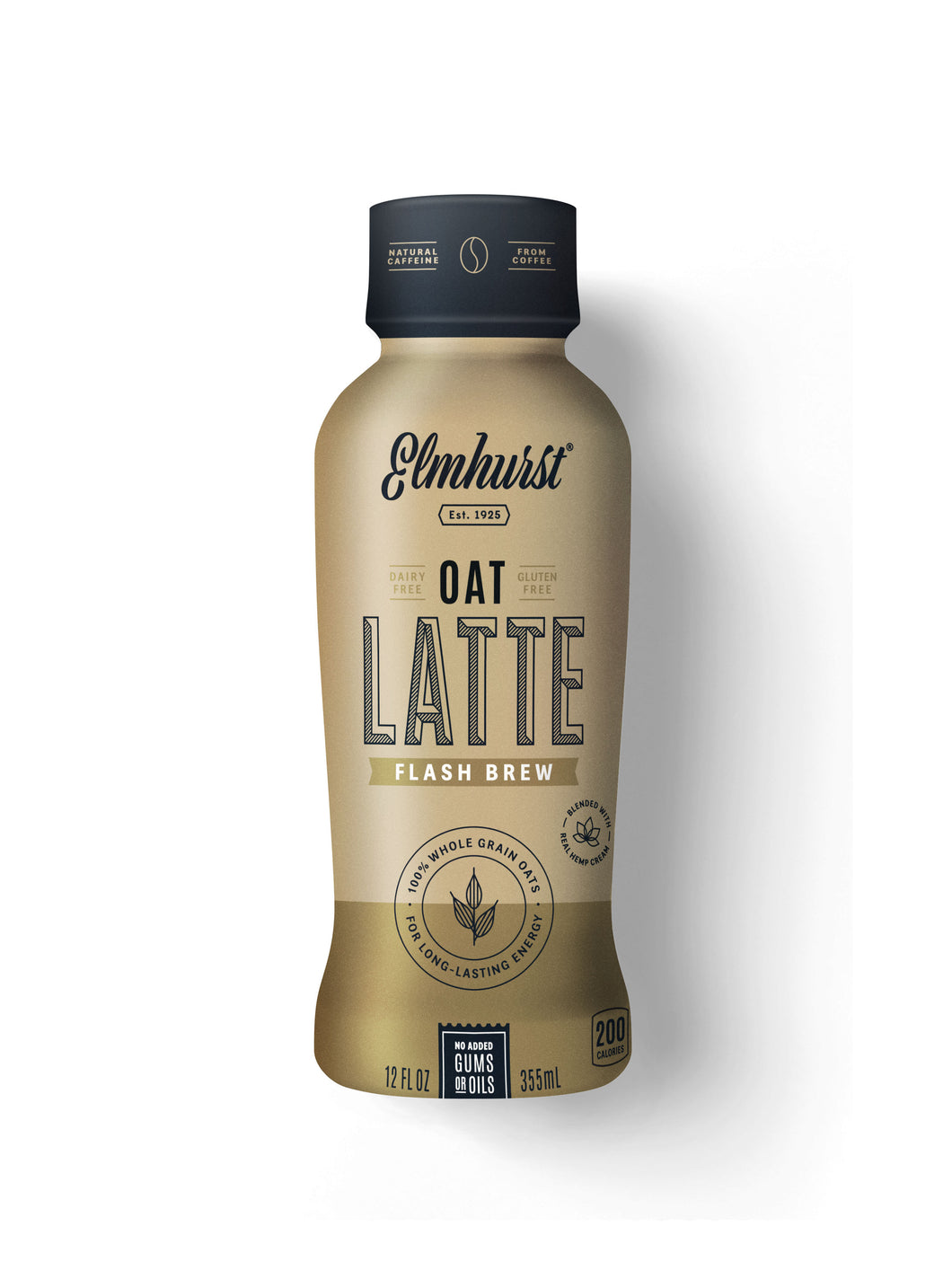 Elmhurst Oat Latte - Flash Brew, 12oz Single-Serve
