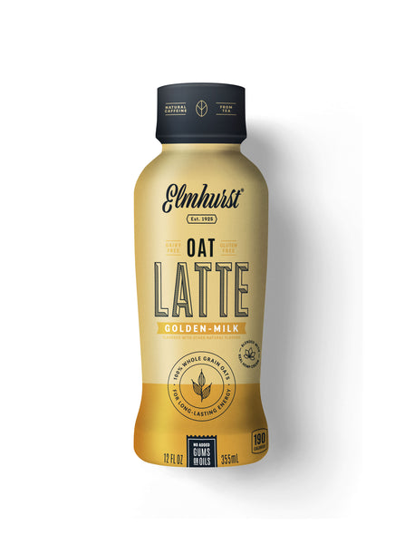 Elmhurst Oat Latte - Golden-Milk, 12oz Single-Serve