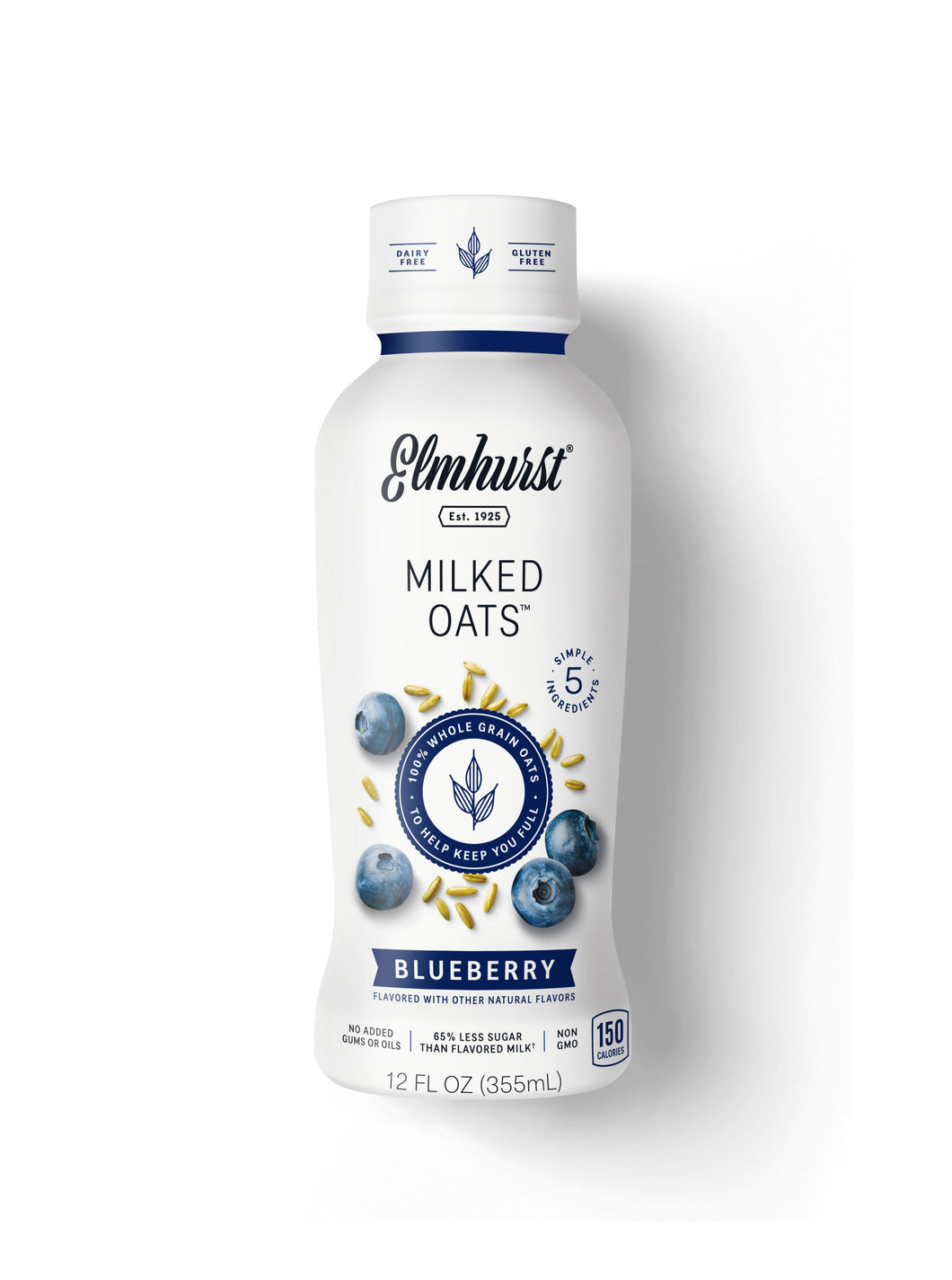 Single-Serve Blueberry Oat Milk, 12oz (Dairy-Free)