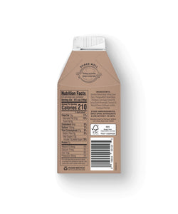 Elmhurst Creamery Soft-Serve Oat Milk Chocolate Ice Cream Mix, 16oz Nutrition Facts