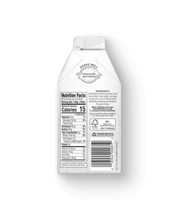 Plant-Based Hazelnut Oat Creamer, 16oz - Nutrition Facts