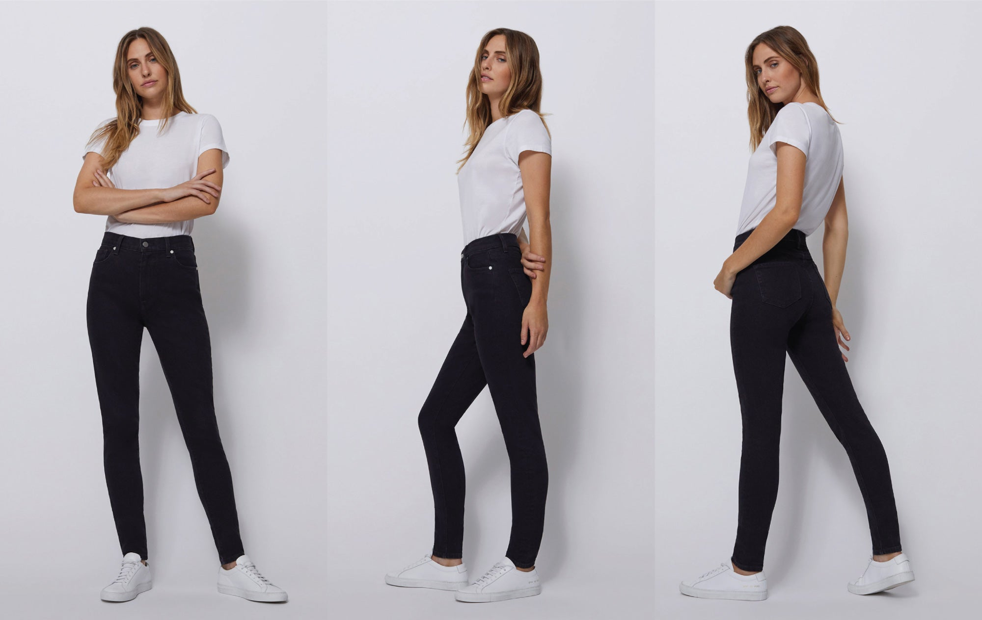 Shop BLDWN Women's Designer High-Rise Skinny Jeans