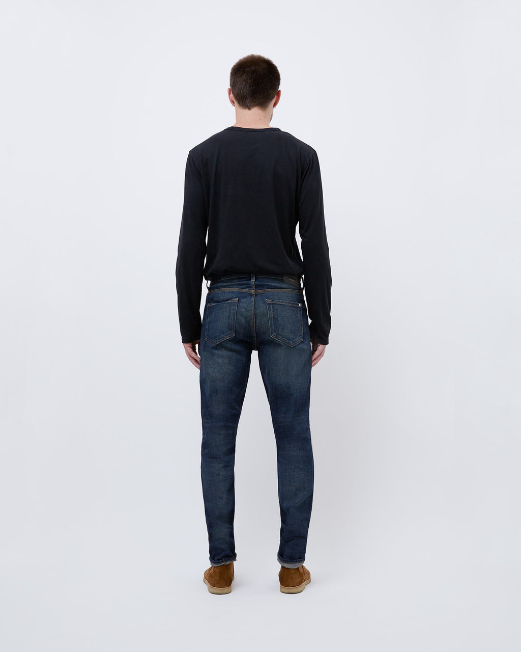 The Henley Denim in MB14 Selvedge