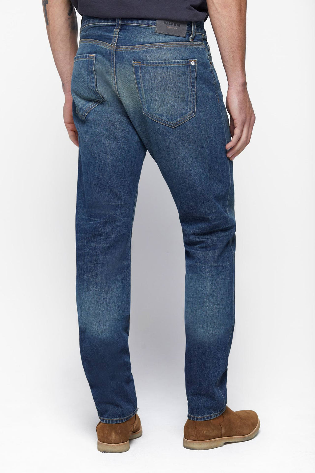 The Henley Jean in Saddle