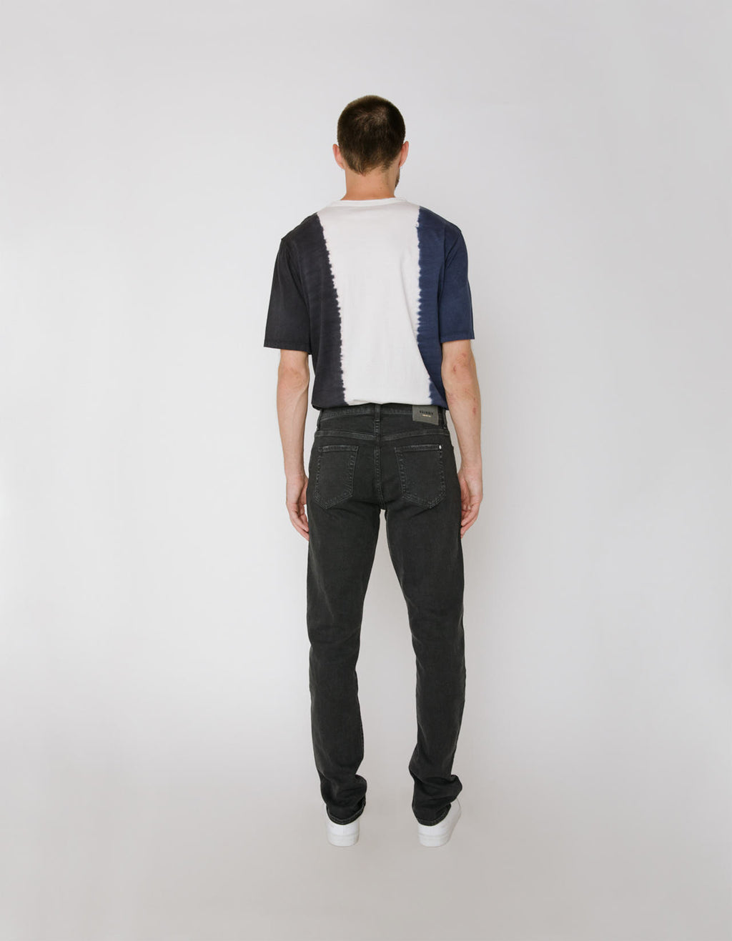 The Henley Jean in Smoke