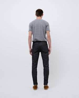 The 76 Denim in Indigo Raw Stretch Selvedge Jean