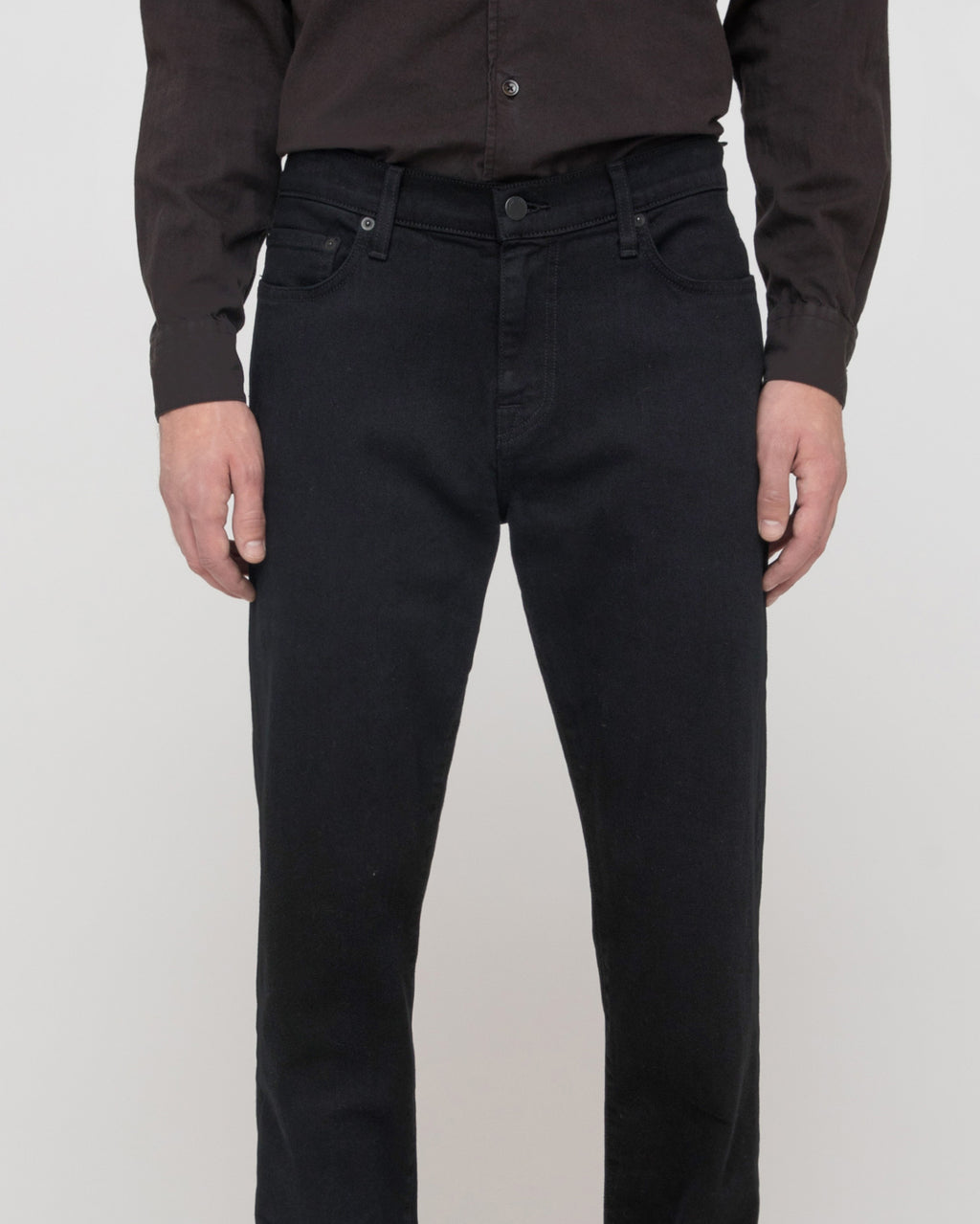 The Brennan Jean in Black