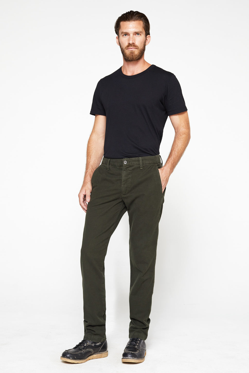 The Liam Pant in Forest_Head to Toe