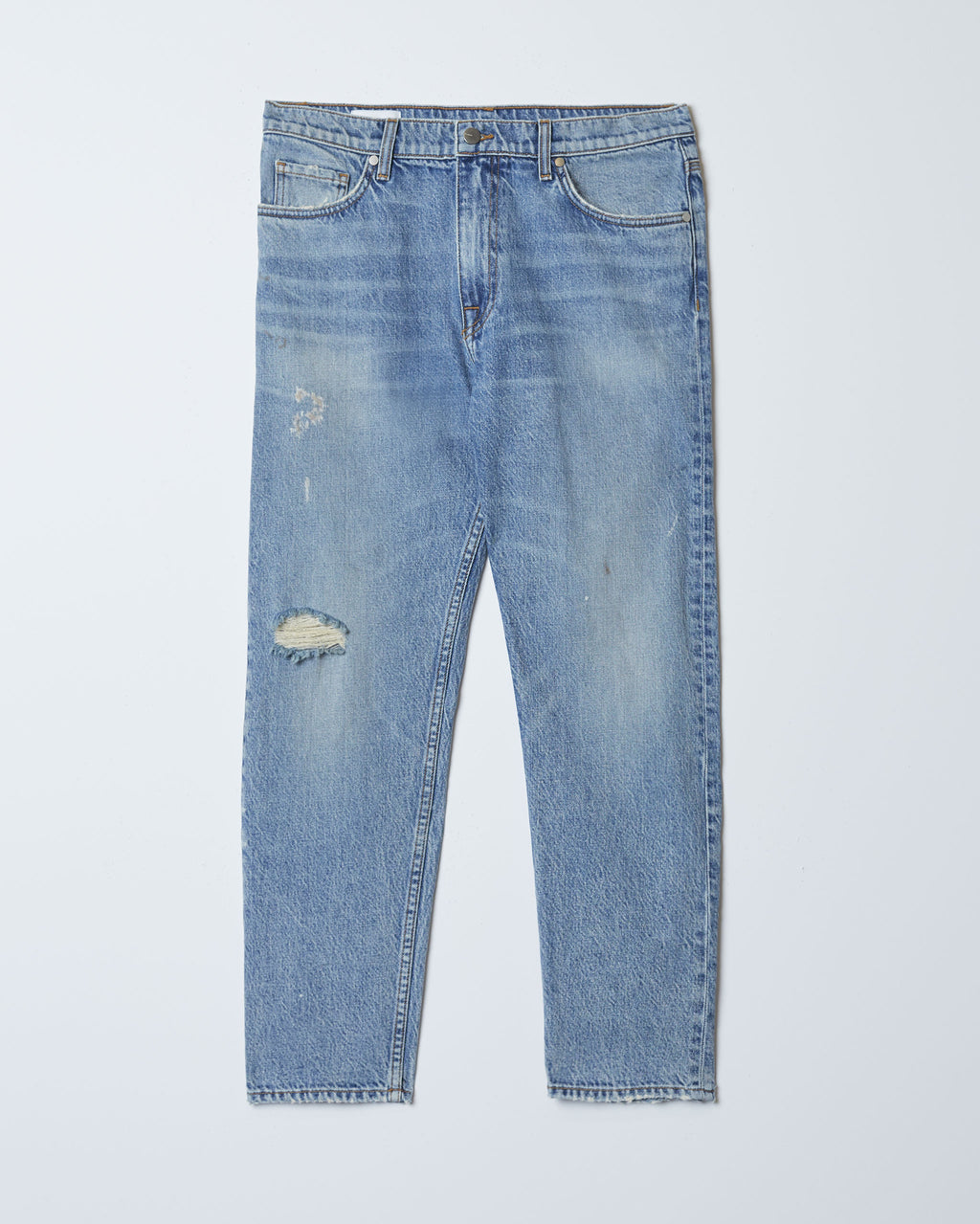 The Modern Taper Jean in Medium Vintage Destroyed