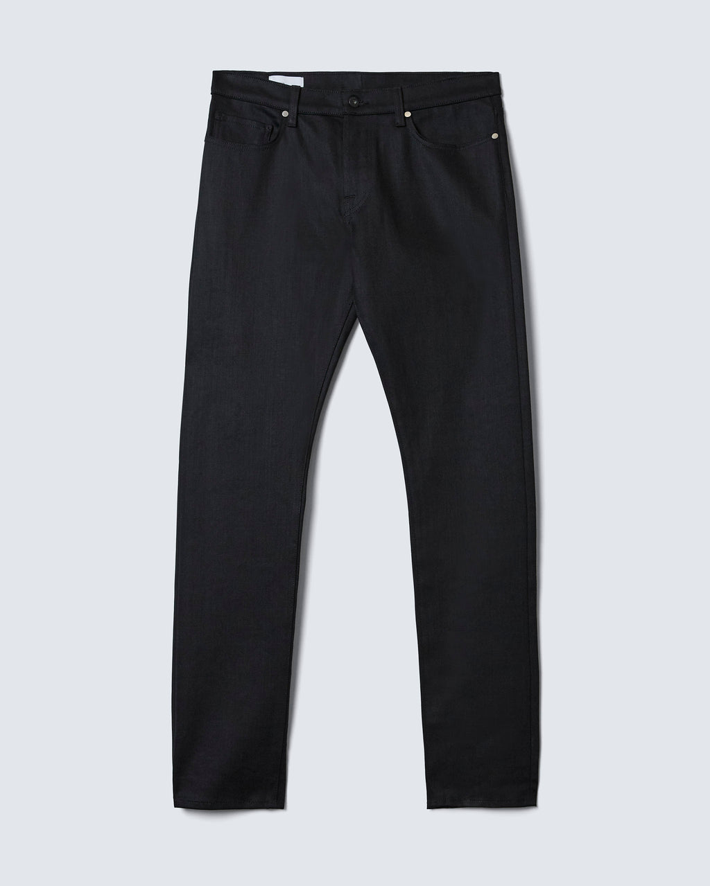 The Modern Slim in Black Stretch Selvage