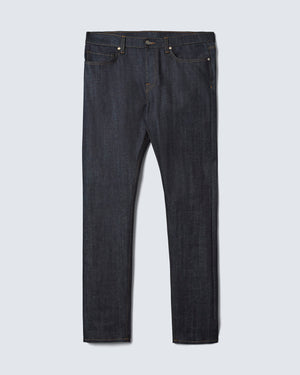 The Modern Slim Jean in Indigo Stretch Selvedge