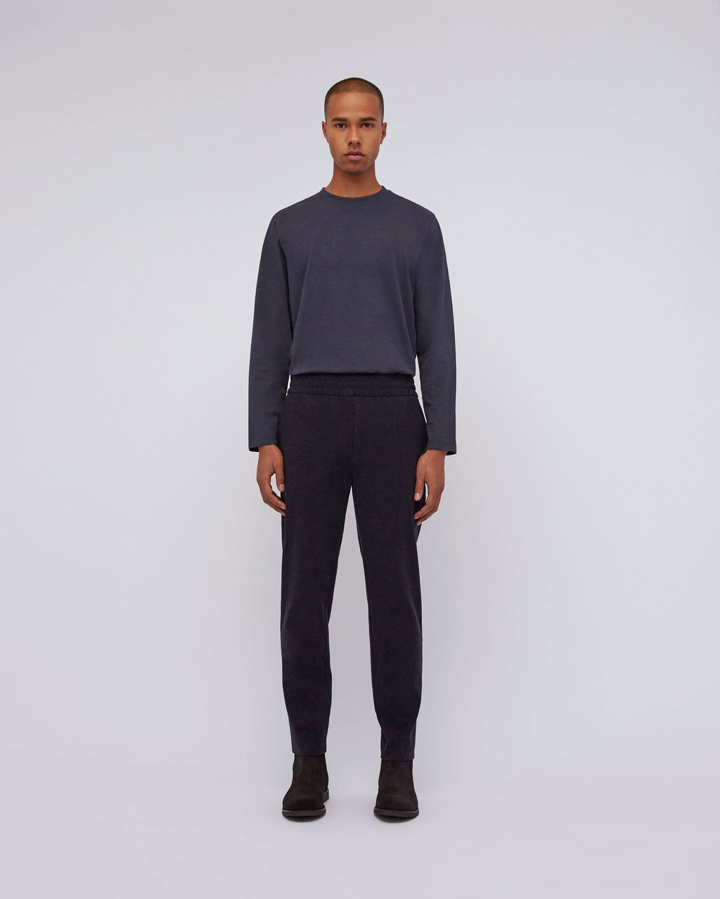 The Abo Pant In Navy