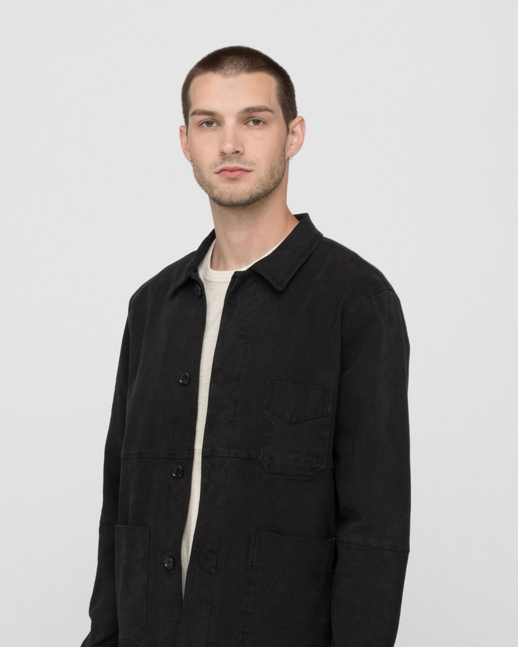 The Bowens Jacket in Vintage Black