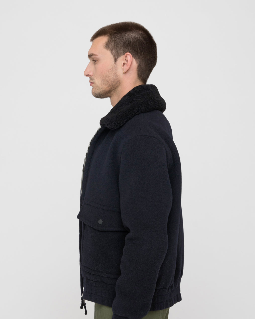 The Acoma Jacket in Midnight
