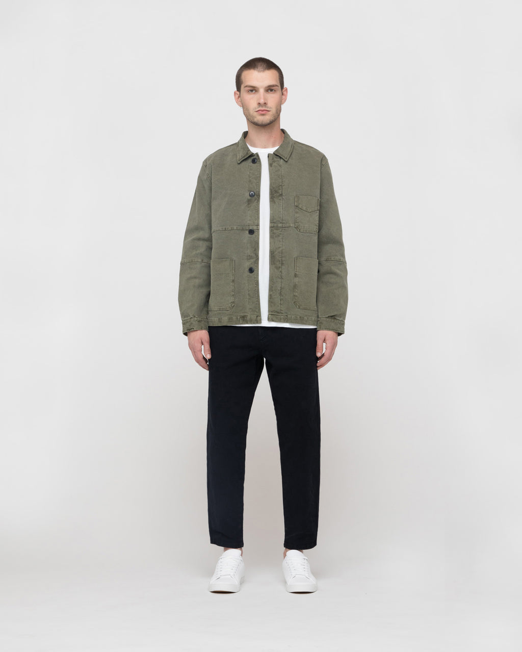 The Bowens Jacket in Vintage Green