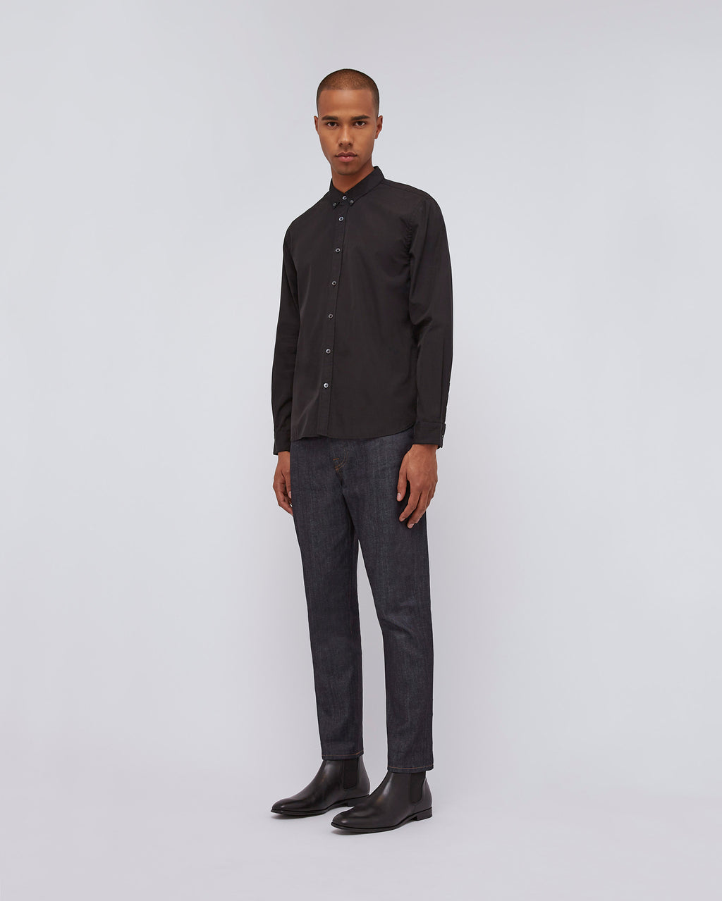 The Standard Shirt In Black