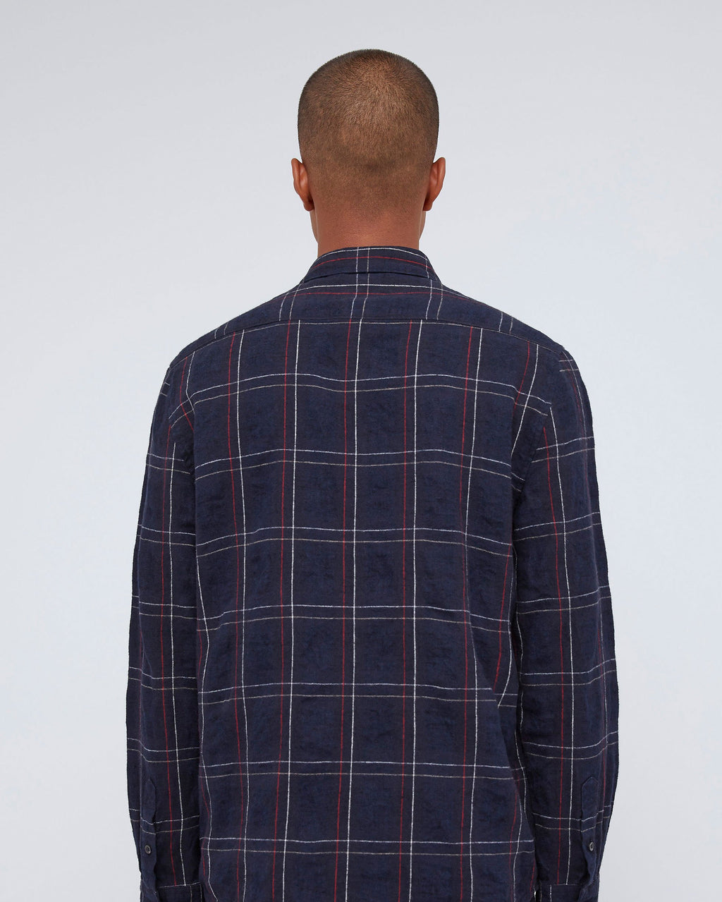 The Del Norte Shirt In Red Navy