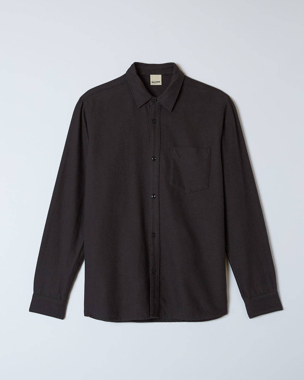 The Lupine Shirt in Black