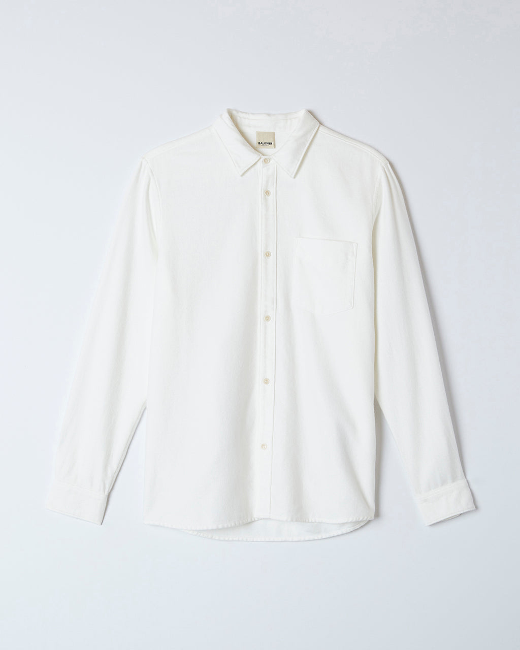 The Lupine Shirt in White