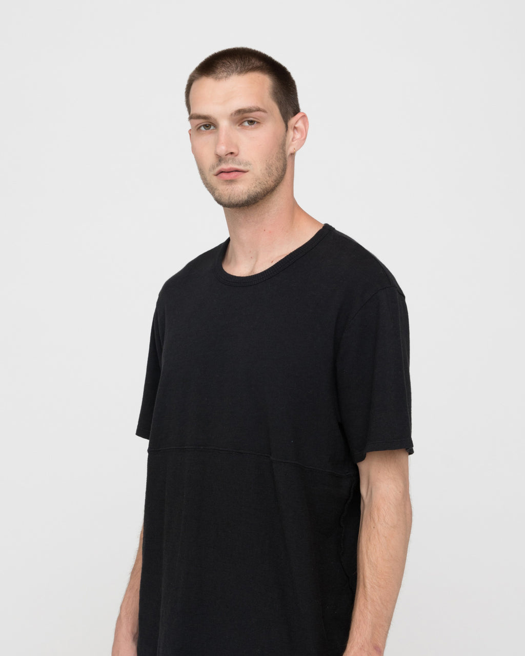 The Oria Tee in Black
