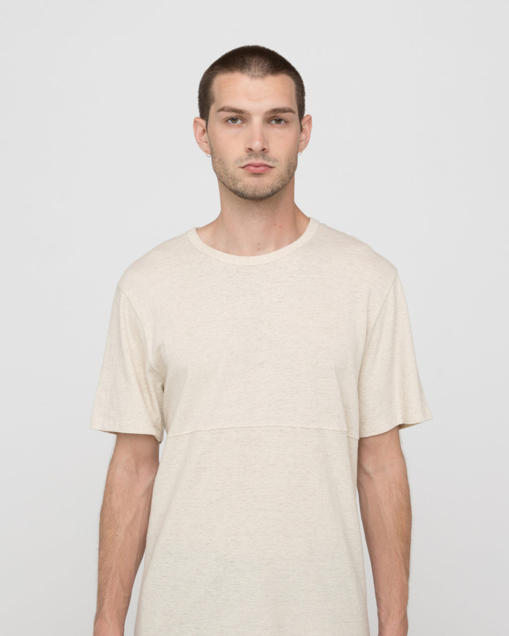 The Oria Tee in Vintage White