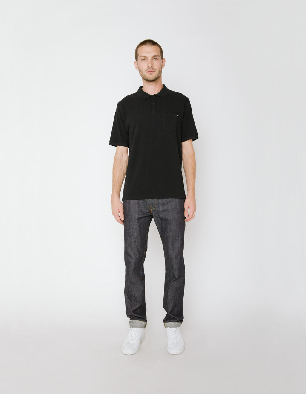The Ralph Polo in Black