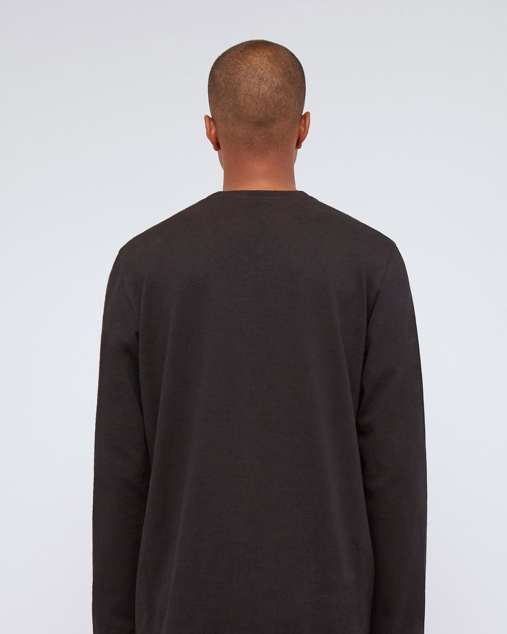 The Long Sleeve Scout Tee In Black