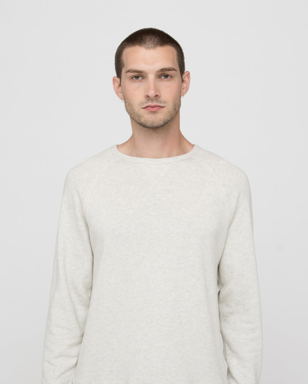 The Silio Sweatshirt in Heather Grey