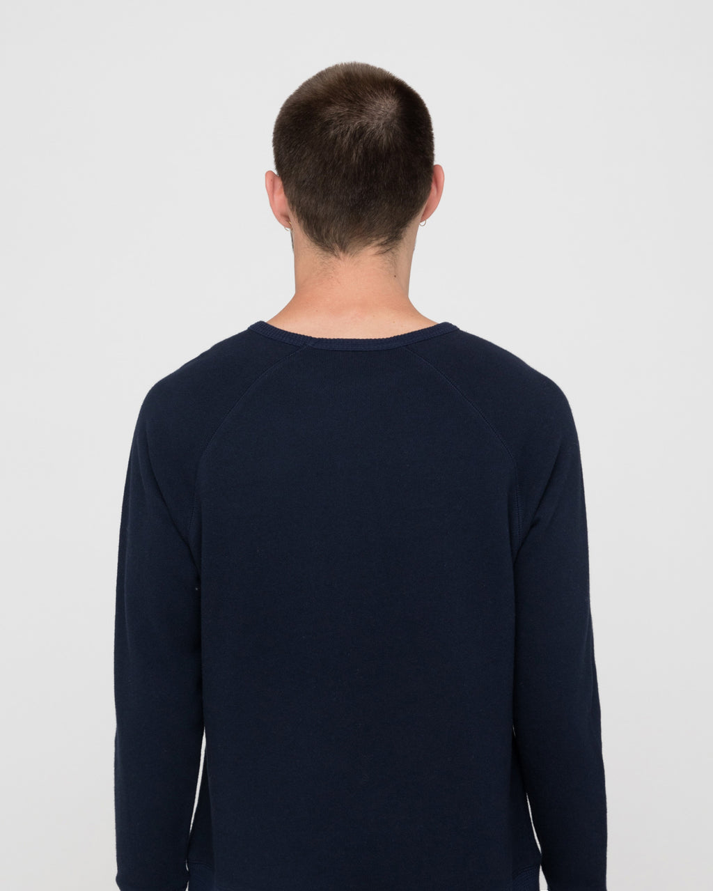 The Silio Sweatshirt in Navy