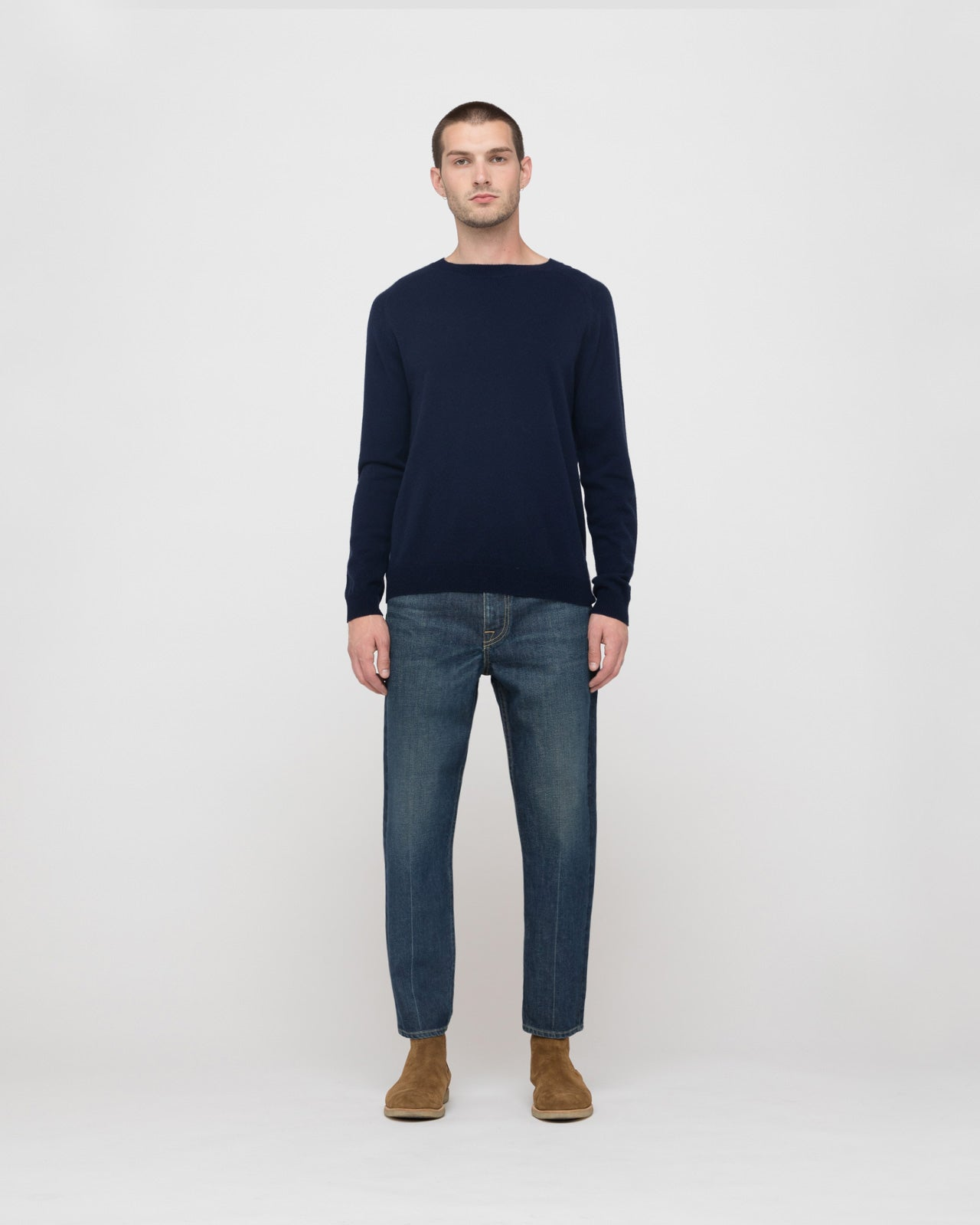 The Graham Sweater in Midnight