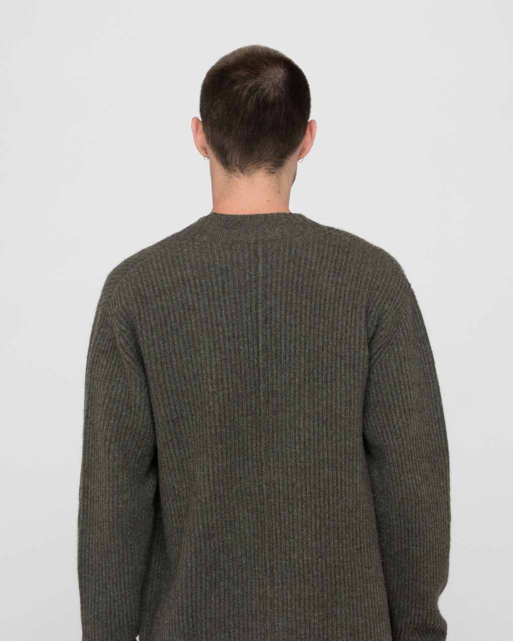 The Socorro Sweater in Country Green