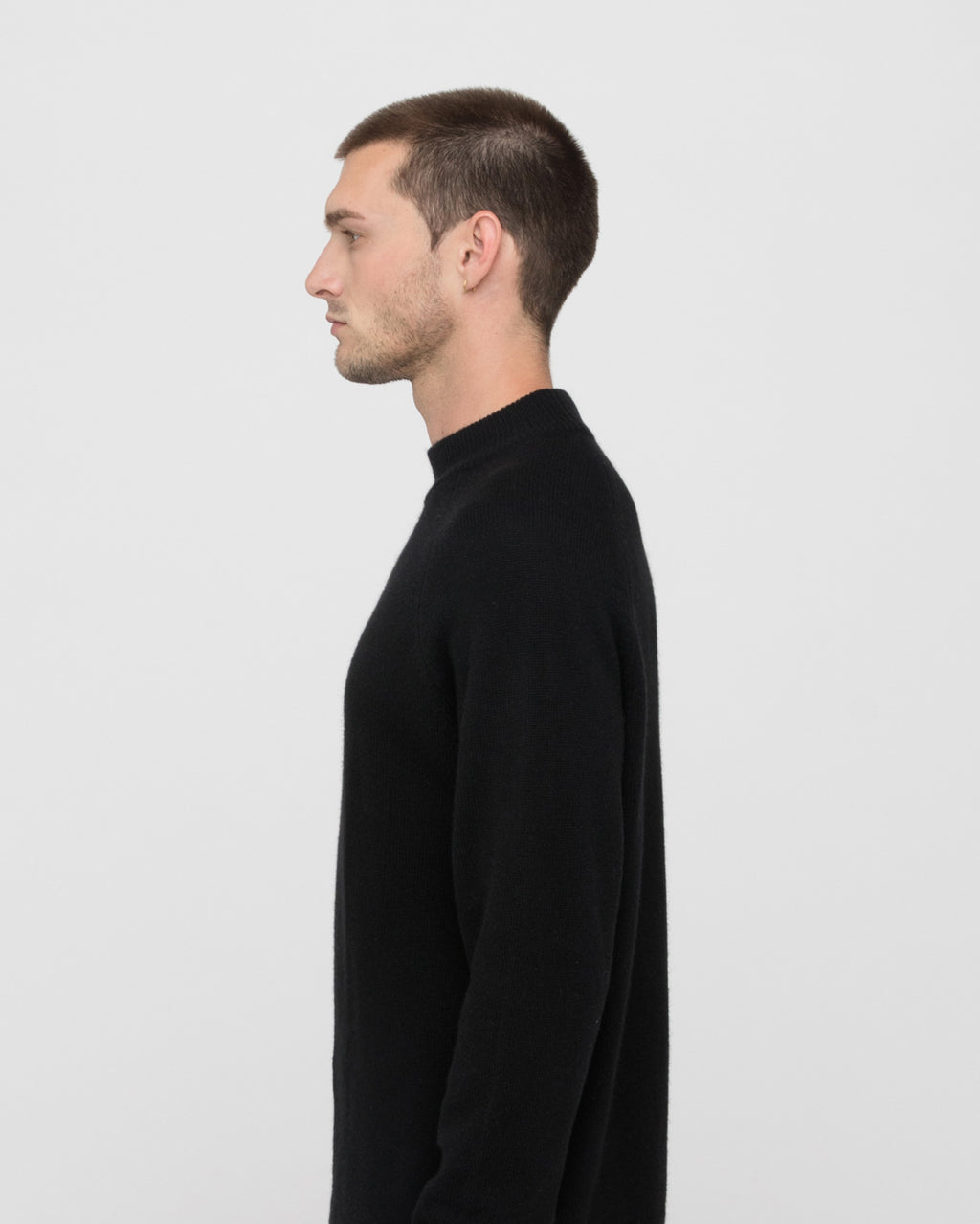 The Altos Sweater in Black