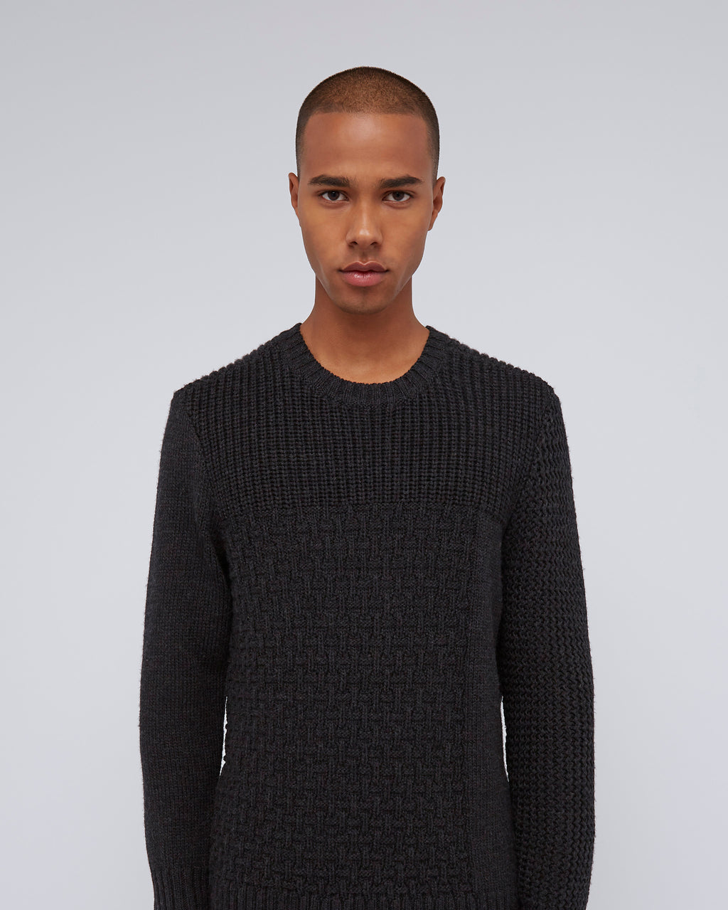 The Tierney Sweater In Black